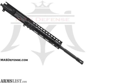 "For Sale: MAS Defense 16"" 5.56 / .223 BARRELED UPPER - GTLKM 10"" KEYMOD 5.56, .223 WYLDE, AR15 AR 15 AR-15"