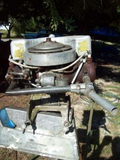 Purchase 1930S Something Johnson Outboard Motor motorcycle in Bremerton, Washington, United States