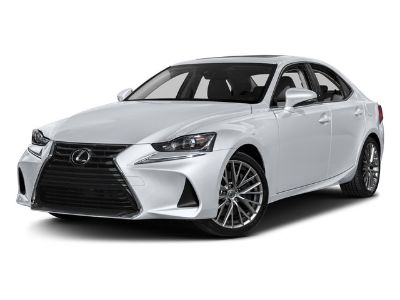 2017 Lexus IS (Obsidian)