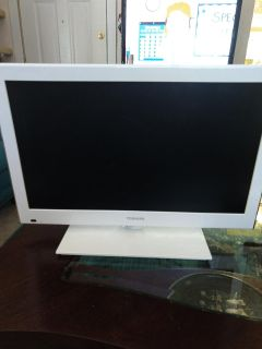 """Toshiba 23"""" LCD TV with built in DVD"""