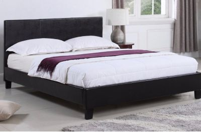 leather queen bed frame only 17f10