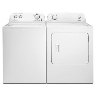 Amana Washer and Dryer Set / Pair NTW4516FW/NED4655EW