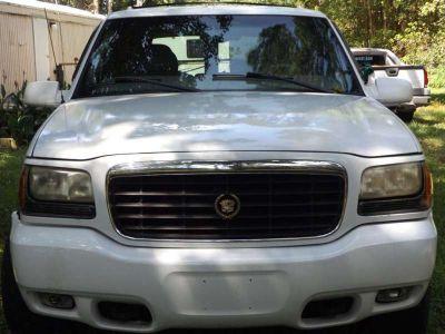 White Cadillac Escalade For Sale