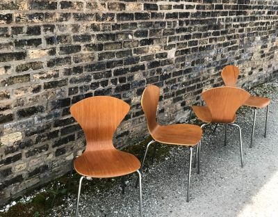 Molded Plywood Chairs by Lennart Bender