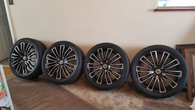 Nice aluminum rims and tires 275/40/20