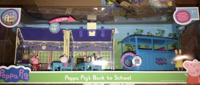 NEW Peppa Pig s Back to School