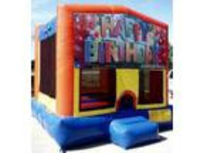 Atlanta Inflatable Rental | Happy Birthday Playtime Jumper For Rent for Rent