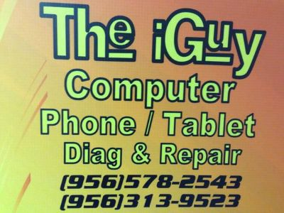 The iGuy ComputerCell PhoneTablet Repair Call Us Today