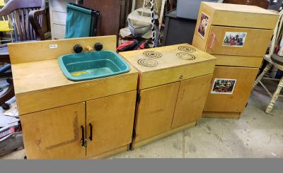 Great project for a childs dream kitchen!!!