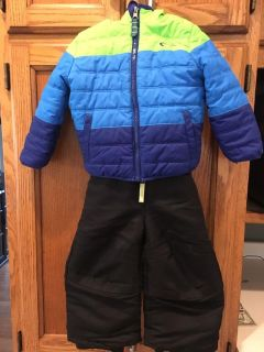 Winter coat and snow pants