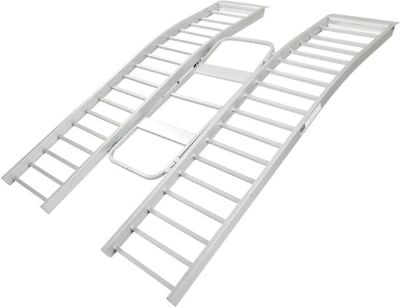"""Sell 85"""" x 55"""" RIDE MASTER TRIFOLD ATV UTV-GOLF CART ALUMINUM RAMP-2200 LB (ATF-8555) motorcycle in West Bend, Wisconsin, US, for US $199.99"""
