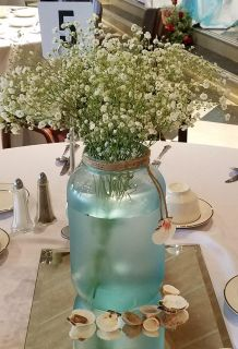 Large Sea Glass Vase