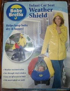 Baby Brella Infant Car Seat Weather Shield Water Resistant