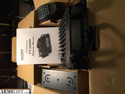 For Sale/Trade: (2) Yaesu 2900R Ham Radios