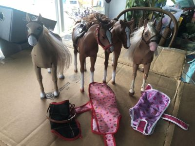 Toy Horses for Barbie or dolls