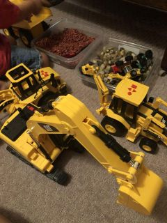 CAT tractors and loaders