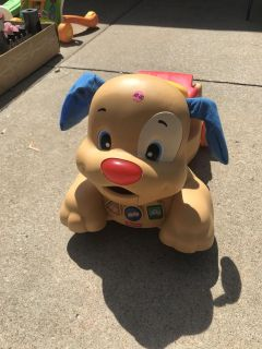 Fisher Price Ride On Puppy