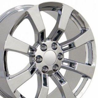 "Sell 20"" Chrome Escalade Wheels Rims Fit Cadillac GMC Yukon Suburban Tahoe B1W motorcycle in Sarasota, Florida, United States, for US $961.00"