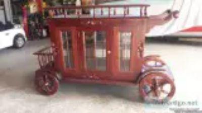Antique Stage coach bar server