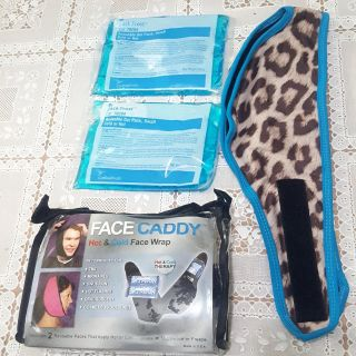Ice pack heating pad for head