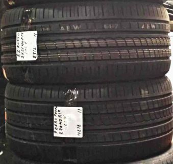 Sell MUSTANG OWNERS STAGGERED SET 245/45/19 & 275/40-19 PIRELLI P ZERO ROSSO TIRES motorcycle in Calvert City, Kentucky, US, for US $775.00
