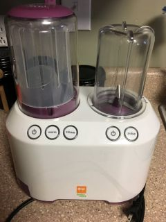 Baby food steamer/blender