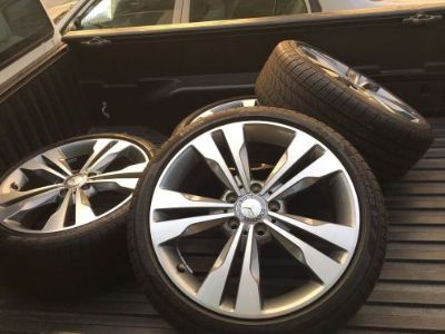 "Sell 2016 Mercedes Benz CLA250 18"" OEM wheels & tires, Factory rims motorcycle in Sacramento, California, United States, for US $1,650.00"