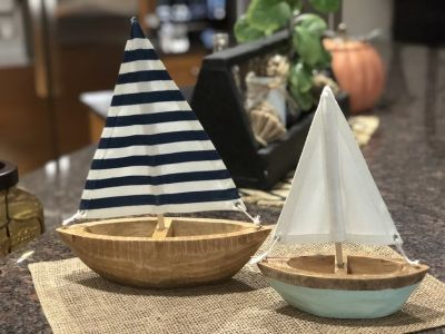 Cute Wood Sailboats