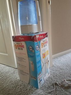 Humidifier and diaper genie