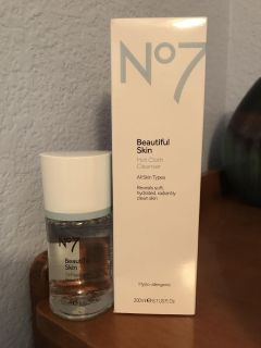 No7 face wash and eye makeup remover asking $15 OBO