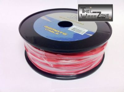 Find New Bullz Audio BPR18.400RD 18 Gauge 400' Feet Primary Remote Wire Cable Red motorcycle in Los Angeles, California, United States, for US $24.95