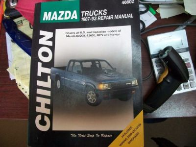 Buy Mazda Trucks 1987-93 CHILTON BOOK Repair Manual 46602 b2200, b2600, mpv, navajo motorcycle in Golden Valley, Arizona, United States, for US $11.99