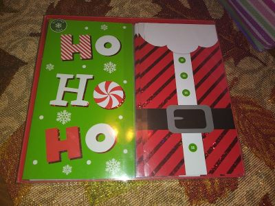 New Christmas cards 14ct two differnt kinds