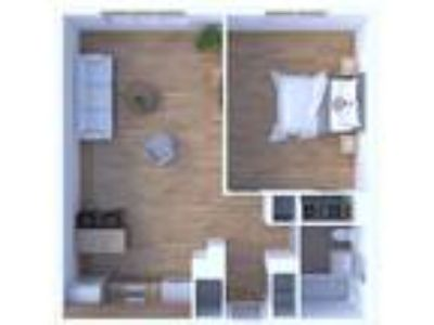 Main Station Apartments - One BR Floor Plan A1