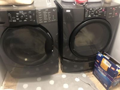Kenmore Elite washer and drier set.
