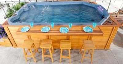 SPA AND HOT TUBS; GREAT DEALS ON OUR DELUXE SWIM SPA
