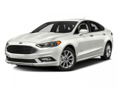 2018 Ford Fusion Hybrid SE (Oxford White)