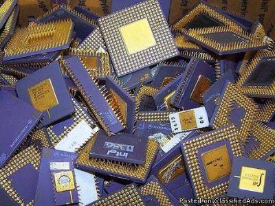 CPU Processor Scrap / Ceramic Processor Scrap for sale