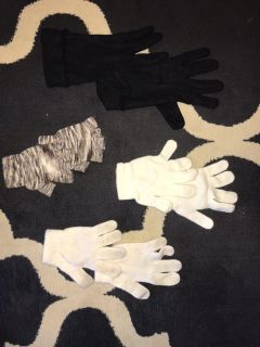 4 Pairs of Gloves