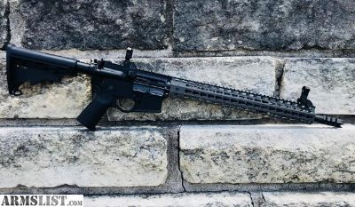 For Sale: Spike s Tactical Crusader AR-15 5.56 NATO Build Strike Industries parts and Grey Line Rail