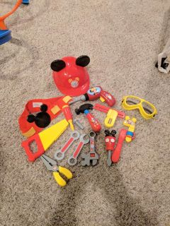 Mickey mouse tool lot