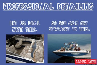 **Detailing and Pontoon Restoration Services**