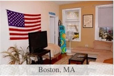Apartment for rent in Boston. Single Car Garage!