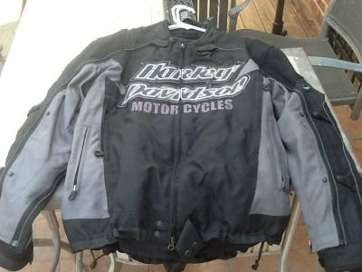 Harley Davidson jackets, leather and synthetic
