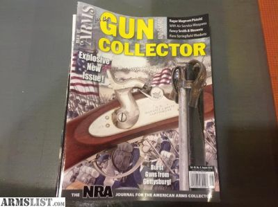 For Sale: Man at Arms for the Gun Collector magazines