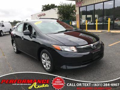 2012 Honda Civic LX (Crystal Black Pearl)