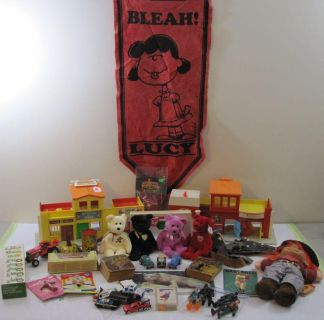 Vintage Toys, Diecast Cars, Action..