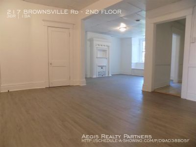 Apartment Rental - 217 BROWNSVILLE Rd