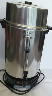 100-Cup Commercial Coffee Urn Coffeemaker Westbend