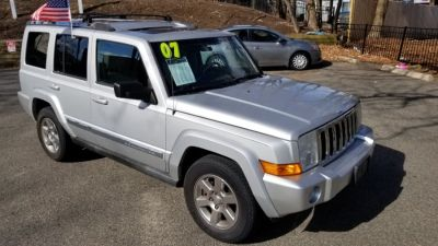 2007 Jeep Commander Limited (Gray)